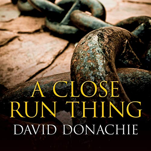 A Close Run Thing audiobook cover art