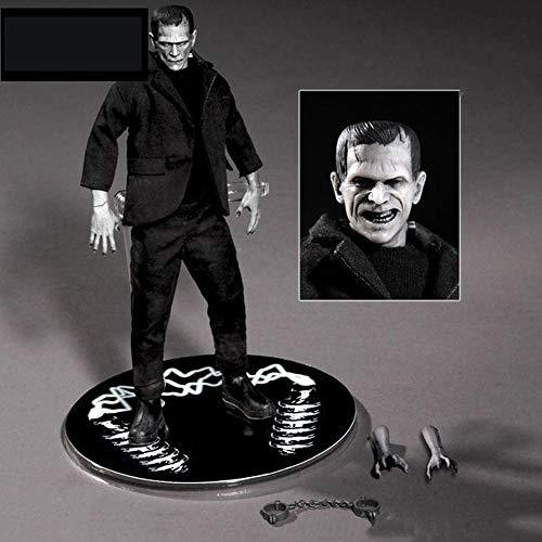 BINGFENG Action-Figur Comic Version 6 Zoll Stoff Frankenstein Modellcharakter Spielzeug Anime PVC Sammlerfigur Role-Puppe Spielt Geschenk Für Kind Und Anime-Fans 18CM