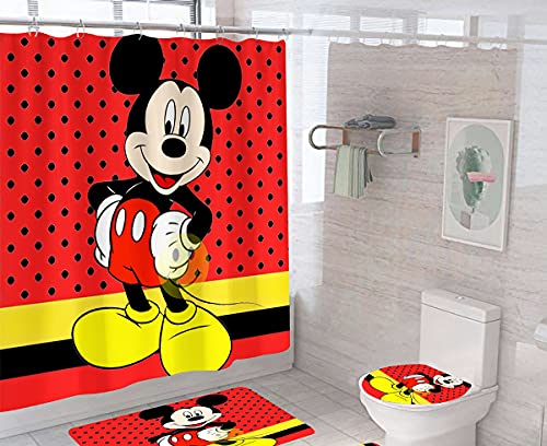 cortina ducha 180×200 de la marca Shukqueen