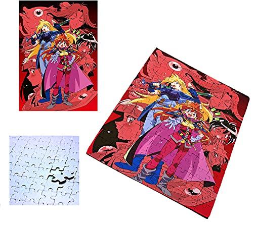 PUZZLE 96 PIEZAS REENA Y GAUDI SERIE ANIME SLAYERS rompecabezas educativo puzle