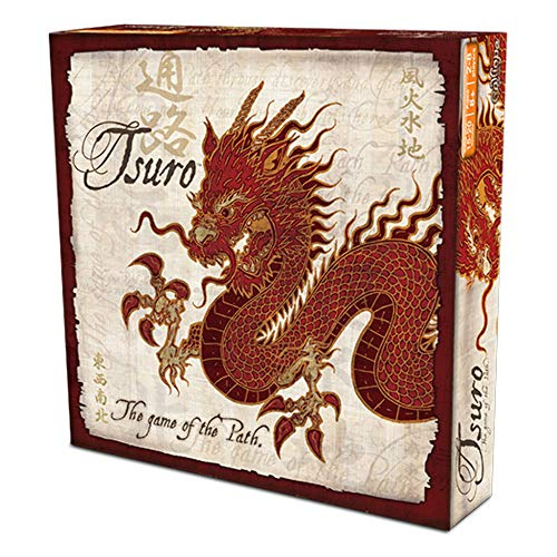 Tsuro, The Game of the Path - Multilingual - GB, DE, Fr, SP, IT, FR, PT