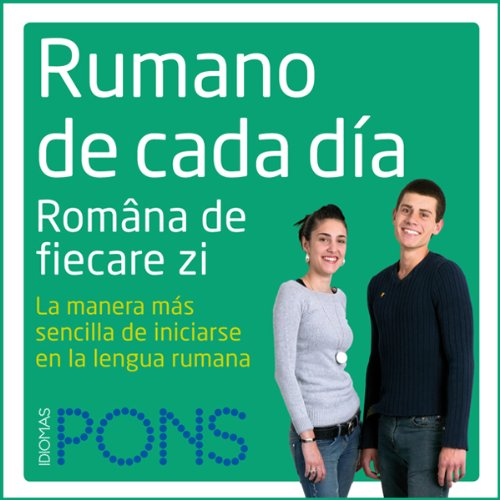 Rumano de cada día [Everyday Romanian] audiobook cover art