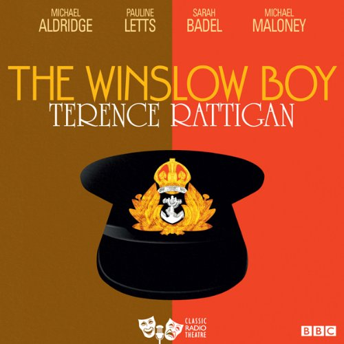 The Winslow Boy (Classic Radio Theatre) audiobook cover art