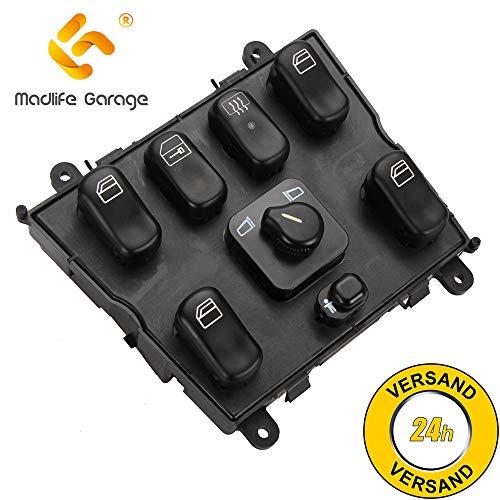 Madlife Garage 1638206610 Fensterheber Schalter Fenster Schaltelement Vorne M-Klasse W163