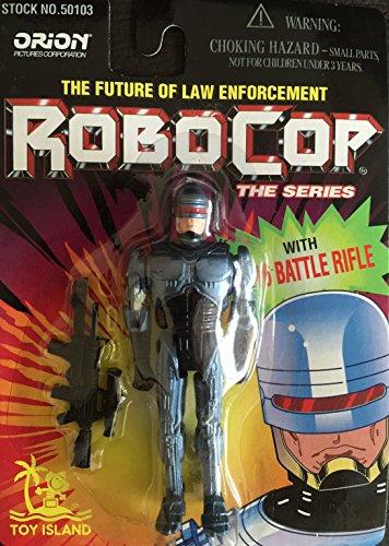 Robocop Abbildung mit Spielzeug M-16 Battle Rifle