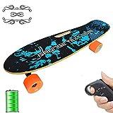 Skateboard Elettrico Cruiser Skateboard Elettrici da 26'con Telecomando Wireless, velocit Massima 20...