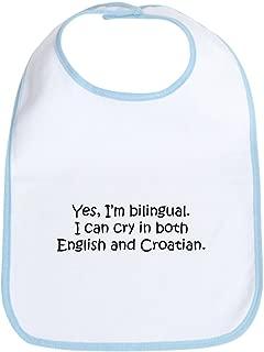 CafePress Croatian Baby Bib Cute Cloth Baby Bib, Toddler Bib