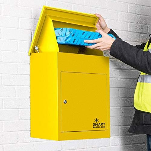 Paketbriefkasten Smart Parcel Box, gelb