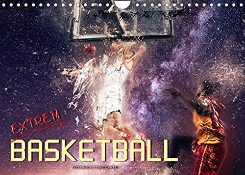 Basketball extrem (Wandkalender 2022 DIN A4 quer)