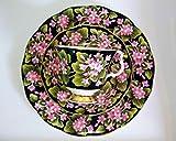 Royal Albert – Tazza da collezione, Mayflower, set da 3 pezzi, originale Bone China e Provincial Flowers.