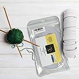 VELAS Gummiband 200cm x 13mm, 10er Pack, Weiß I Gummilitze mit hohe Elastizität | Weiß 2 Meter...