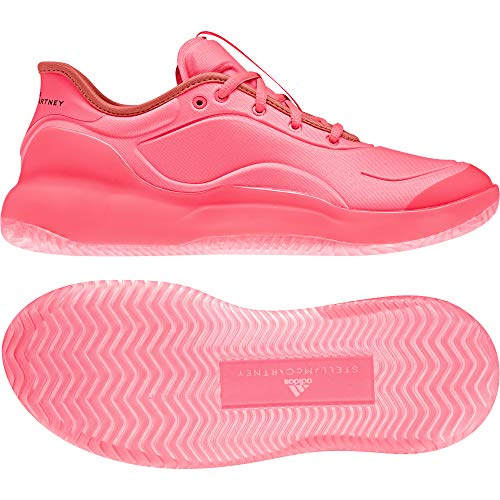 adidas Stella Mccartney Court Boost - Zapatillas de Tenis para Mujer, Color Rosa, Rojo, Talla 37 1/3 EU
