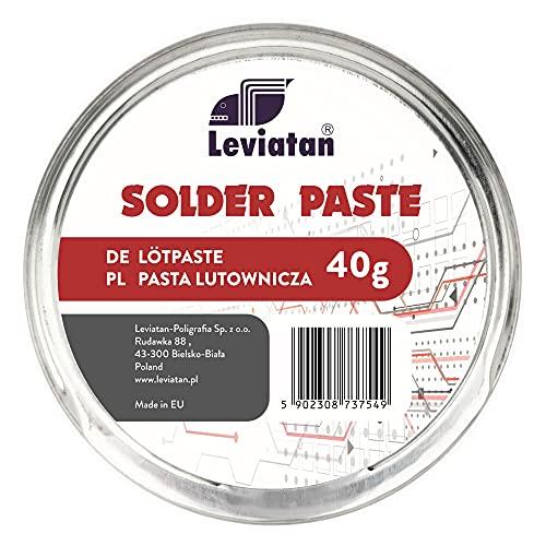 D.RECT Pasta para soldar SMD, lata de grasa para soldar como agente para soldar elementos de construcción, 40 g
