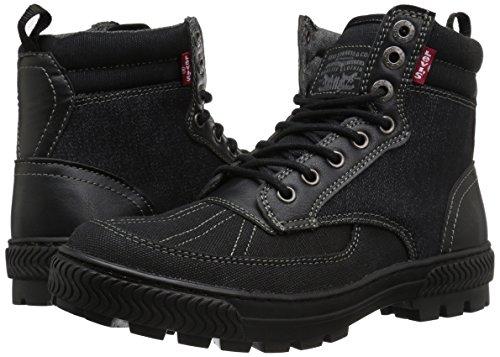 Levis Men's Dayton Denim Combat Boot, Black, 9.5 M US