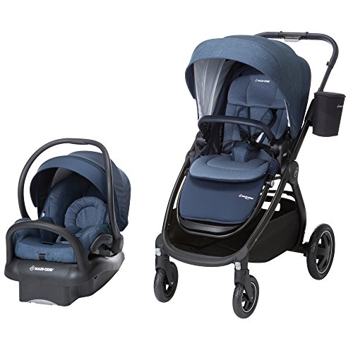 Maxi-Cosi Adorra Modular 5-in-1 Travel System with Mico Max 30 Infant Car Seat, Nomad Blue