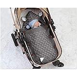 Warme Decke Neugeborenen Schlafsack, Danolt Kids Baby Schlafsack mit Polyester, 0–12 Monate Neugeborene, Jungen und Mädchen, Grau