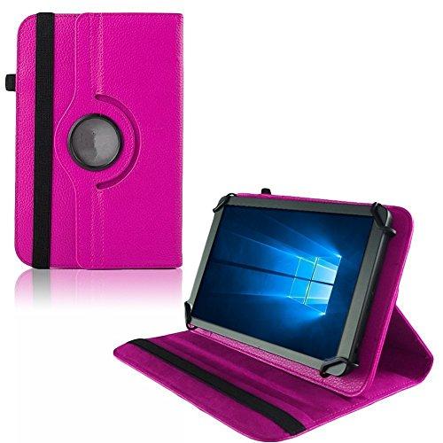 UC-Express Hülle für Verico Unipad 10.1 Tablet Tasche Schutzhülle Universal Case Cover Bag, Farben:Pink