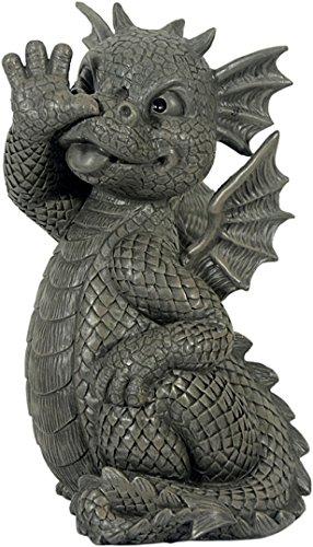 Figure de jardin Dragon fait long nez décoration