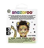 Snazaroo Tigre pintura facial, color negro, blanco, amarillo