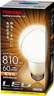 Toshiba E-CORE general 10.6W bulb shape bulb (E-core) LED LDA11L-G (color bulbs equivalent to 60W incandescent bulb 810 lumen type spread of light) (Japan Import)