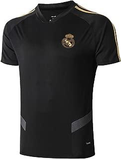 Real Madrid FC Soccer Shirt for Mens Home V-Neck Club Training T-Shirt White