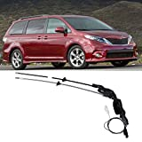 Power Sliding Side Door Spool Control Cable Repair Kit Compatible with 2004-2010 Toyota Sienna Replaces# 85620-08042 69631-08030 924-550 - Rear Passenger Side