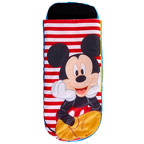 Mickey Mouse Kinder-Schlafsack und Luftbett, Polyester, One Size