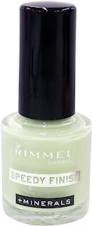 リンメル ネイルカラー スピーディフィニッシュ FROSTY GLASS NAILS 708 さわやかな印象のフロスティグリーン (7mL)