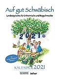 Auf gut Schwäbisch Kalender 2021