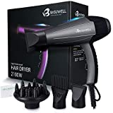 2100 Watt Powerful Professional Hair Dryer, Negative Ionic Ceramic & Far Infrared Heat