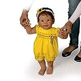 Kiaras erste Schritte, Laufende Babypuppe von Linda Murray, mit Bewegungssensor