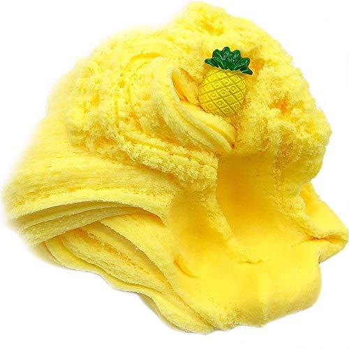 YWLINK Dekompression Spielzeug Mischen Wolken-Schlamm-Ananas-Kitt Stress Reduce Kinder Crystal Clay Spielzeug