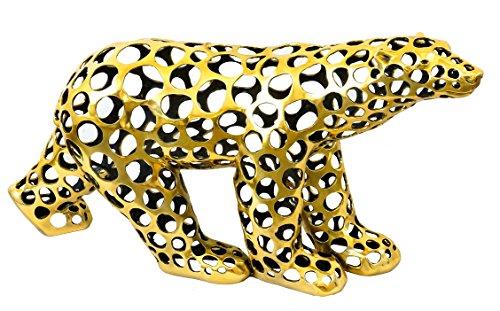 Moderne Kunst Skulptur - Eisbär aus Bronze / Cut Out Style - signiert Martin Klein - Tierfiguren - Modern Art - Kunst kaufen