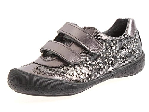Naturino Kindersneaker Sneaker Schuhe Klettschuhe Loraine glänzend Nieten