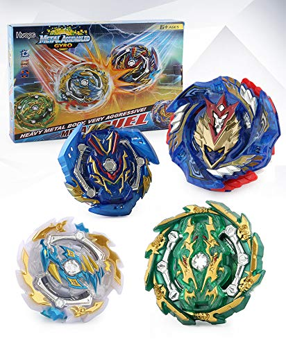 Burst Bey Battle Battling Top Gyro Battle Evolution Attack Avatar with 4D Launcher Grip and Fusion Stadium Set 4 in 1