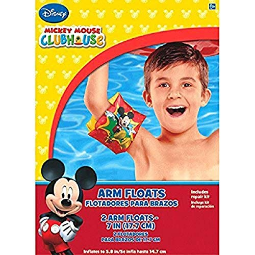 Amscan 396990 Disney Mickey Mouse Arm Floats Party Favor 1 set
