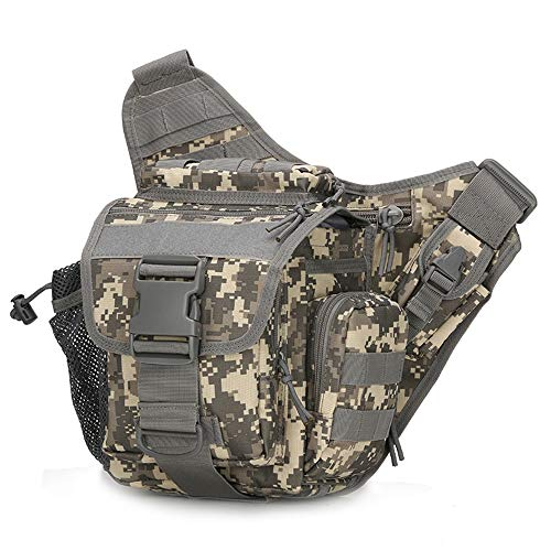Rosepoem Chest Pack Belt Bag Shoulder Backpack Shoulder Bags Unilateral Shopping Tactics Bank Card 800D Waterproof Oxford Below