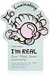 TONYMOLY I'm Real Pearl Luminating Mask Sheet, 1 Count