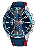 Lorus Herren Chronograph Quarz Uhr mit Edelstahl Armband RM389EX9