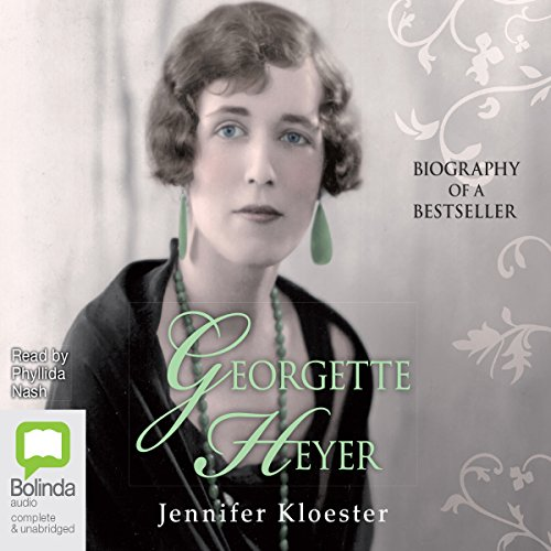 Georgette Heyer audiobook cover art