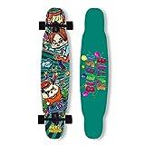 YVX Skateboard Dancing Longboard 42X8.9 Zoll Cruiser Skateboard...