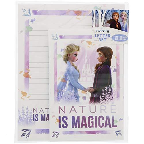 サンスター文具 ディズニー アナと雪の女王2 レターセット 3D柄 S2087430