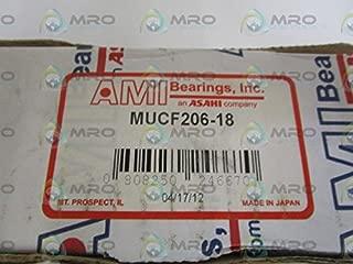 AMI BEARINGS, INC. MUCF206-18 FLANGE BEARING *NEW IN BOX*