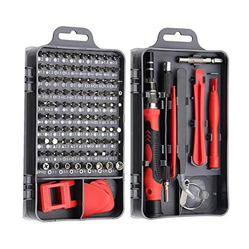 kit de herramientas de reparación de computadoras 115/25 1 Grupo 1 Conjunto De Mini Precision PC Computer Equipos De Reparación De Tabletas Móviles Herramientas Para El Hogar ( Colore : Red 115 in 1 )