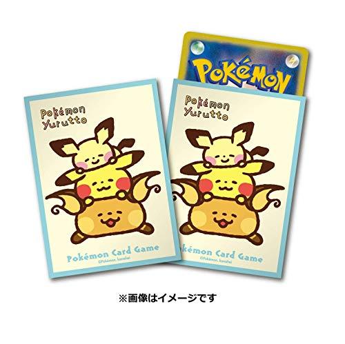 ポケモンセンターオリジナル ポケモンカードゲーム デッキシールド Pokémon Yurutto 寝そべり