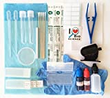 Rs' Science - 43-Piece All-in-One Microscope Slide Preparation Kit...