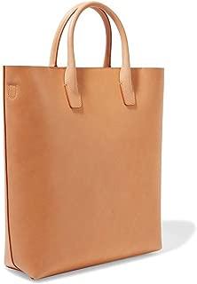Well-Made Outdoor Travel Bucket Bag Hit Color Leather Ladies Shoulder Bag Large Capacity Size: 29.3 * 35.5 * 10.2cm Dynamic (Color : Beige)