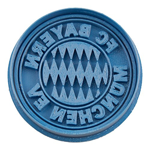 Cuticuter Bayern München Team Fußball Ausstechform, Blau, 8x 7x 1.5cm