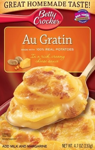 Betty Crocker Potatoes Au Gratin Casserole Mix 4.7oz - 3 boxes