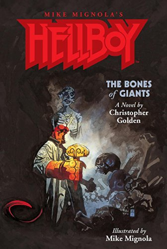 Amazon.com: Hellboy: The Bones of Giants Illustrated Novel eBook: Golden,  Christopher, Various: Kindle Store